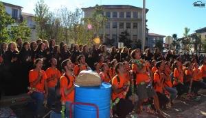Milhares de estudantes festejam a Latada em Guimarães
