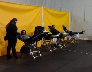 Estudantes revelam-se solidários com dádiva de sangue