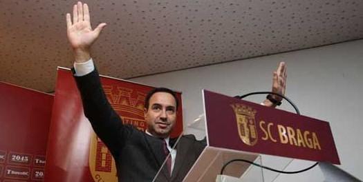 António Salvador mantém presidência do SC Braga