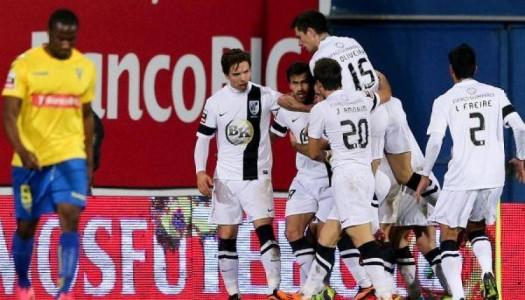 Vitória SC triunfa frente ao Estoril