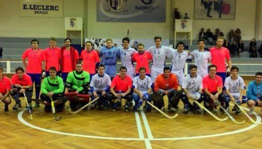 Triunfo do HC Braga em Torres Vedras