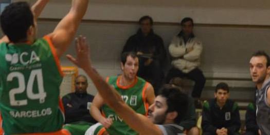 BC Barcelos vence no derby minhoto de basquetebol