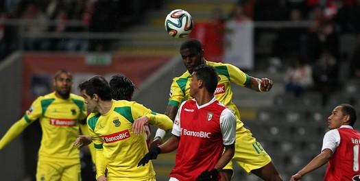 SC Braga empata frente ao Paços de Ferreira