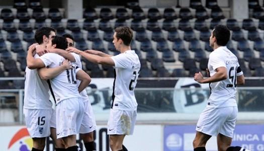 Vitória SC volta aos triunfos para o campeonato
