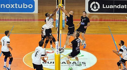 Voleibol do Vitória soma pontos em casa