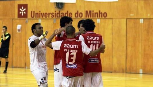 SC Braga/AAUM segue em frente na Taça de Portugal