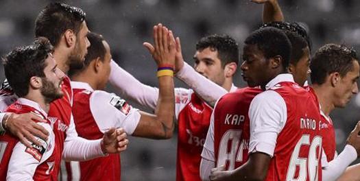 SC Braga – Gil Vicente, 4-1 (destaques)