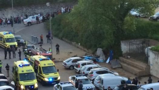 Três mortos em derrocada perto da UM