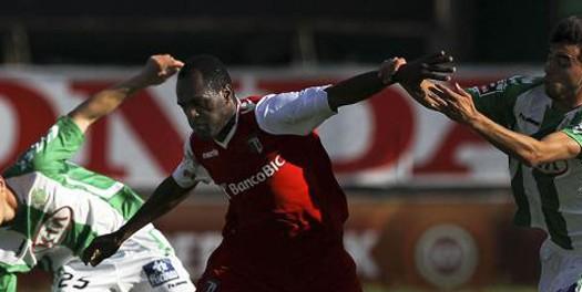 SC Braga empata no Bonfim