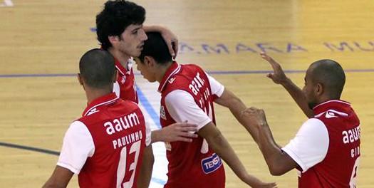 SC Braga/AAUM conquista vitória difícil em casa