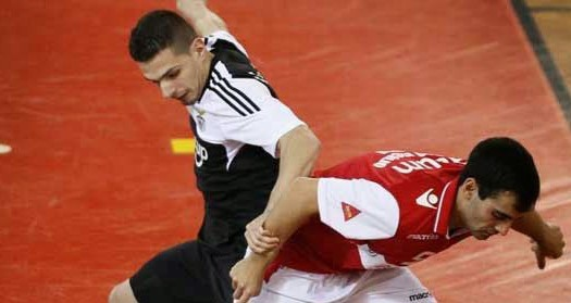 SC Braga/AAUM derrotado na Luz