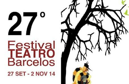 27ª edição do Festival de teatro de Barcelos: a arte dramática em destaque