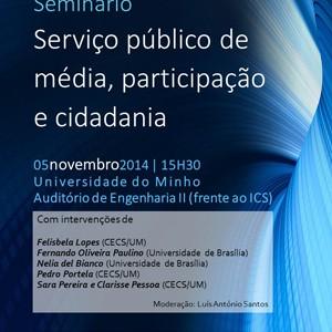 Serviço público e cidadania em debate na UMinho