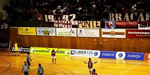 SC Braga/AAUM alcança vitória histórica frente ao Sporting