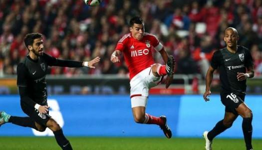 Vitória SC derrotado na Luz