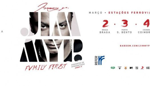 "Jimmy P edita novo disco ""Fvmily F1rst"""
