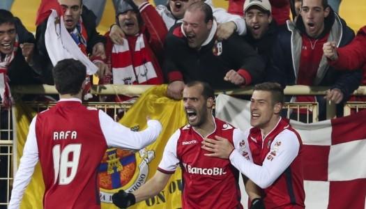 Braga vence na Amoreira