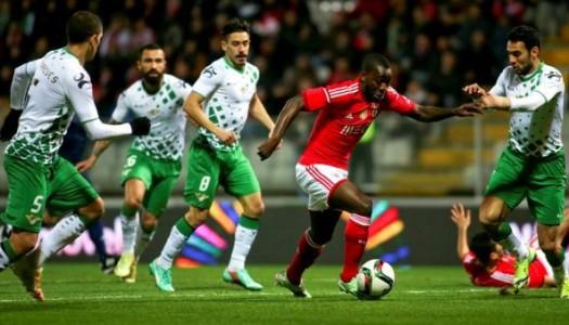 Moreirense-Benfica, 1-3 (destaques)