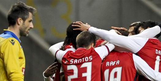 SC Braga triunfa diante do Arouca
