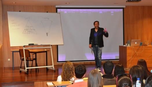 Rui Silva, chairman da BBDO, regressou à UMinho para uma aula de publicidade