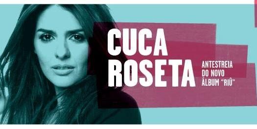 Cuca Roseta apresenta novo álbum no CCVF
