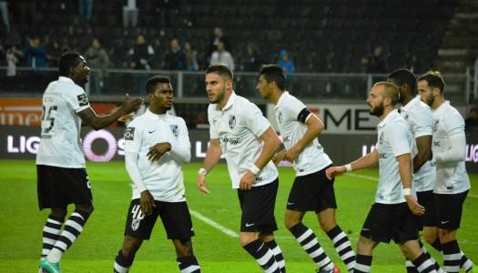 Vitória SC – SC Braga, 1-0 (destaques)