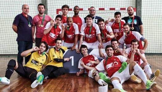 AAUM conquista título de futsal masculino nos CNU