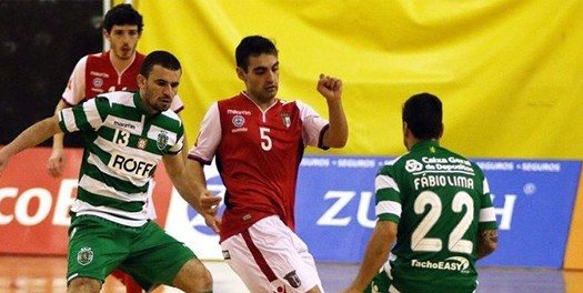 SC Braga/AAUM vence Sporting e assume o segundo lugar