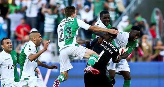 Sporting 2-2 SC Braga, 3-1 após g.p (destaques)
