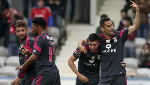 Gil Vicente goleado pelo Benfica