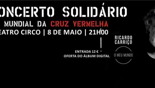 Theatro Circo recebe evento solidário com Ricardo Carriço