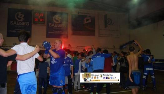 HC Braga sobe à 1.ª Divisão