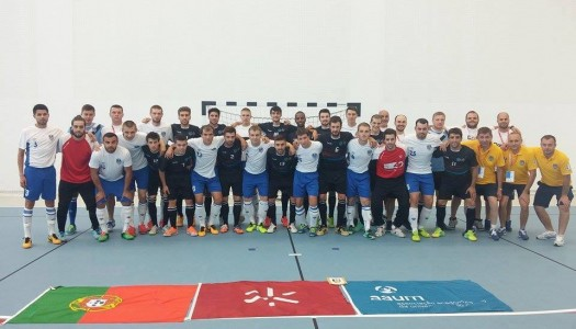 Futsal da UMinho termina em 5º lugar no Europeu