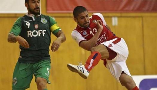 Braga/AAUM empata frente ao Sporting CP