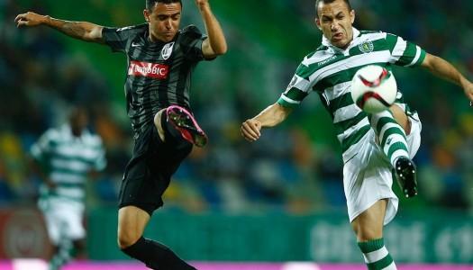 Vitória SC goleado pelo Sporting