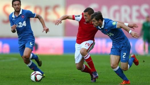 SC Braga goleia Belenenses