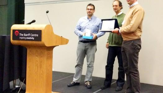 Equipa da UMinho e do CCG premiada no Canadá