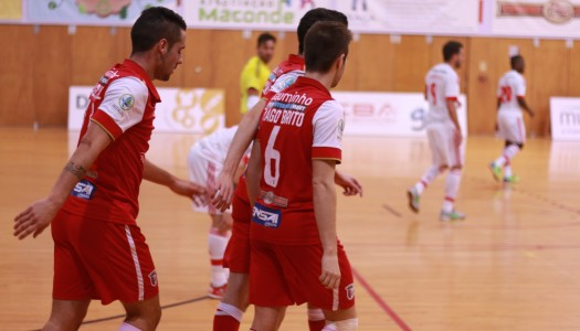 SC Braga/AAUM empata com o SL Benfica