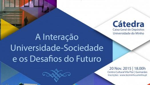 Conferência debate interação entre universidade e a sociedade