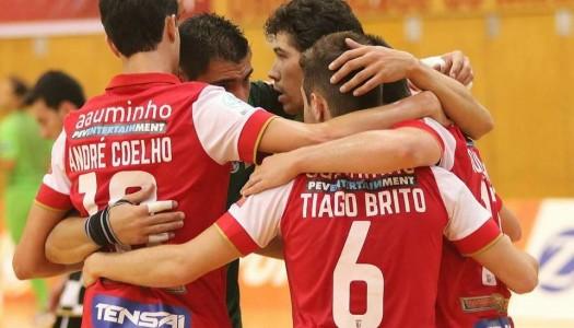 SC Braga/AAUM perde no Fundão