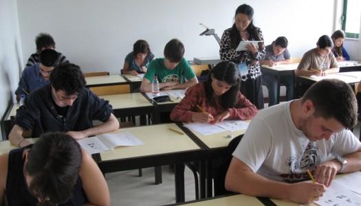 Média dos exames nacionais subiu até 3,3 valores na primeira fase