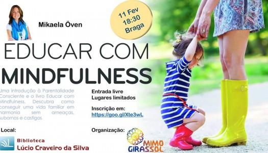 """""""Educar com Mindfulness"""" conquista mães bracarenses"""