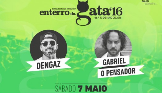 Dengaz e Gabriel, O pensador no Enterro da Gata 2016