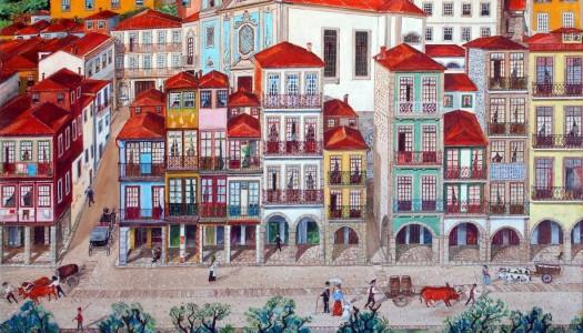O passado e o presente de Miragaia na pintura de Artur Arcos
