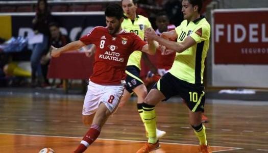Braga/AAUM goleado pelo Benfica