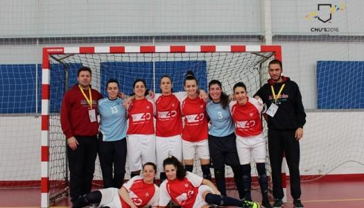 AAUM sagra-se campeã nacional universitária em futsal feminino