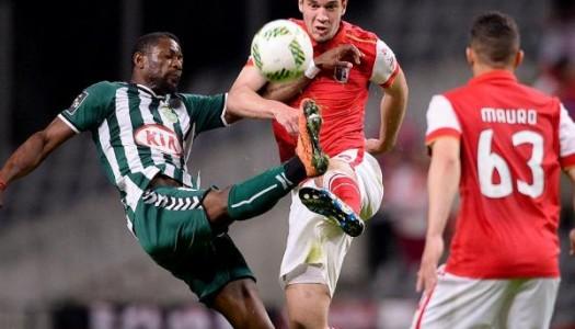 SC Braga sofre mas regressa às vitórias
