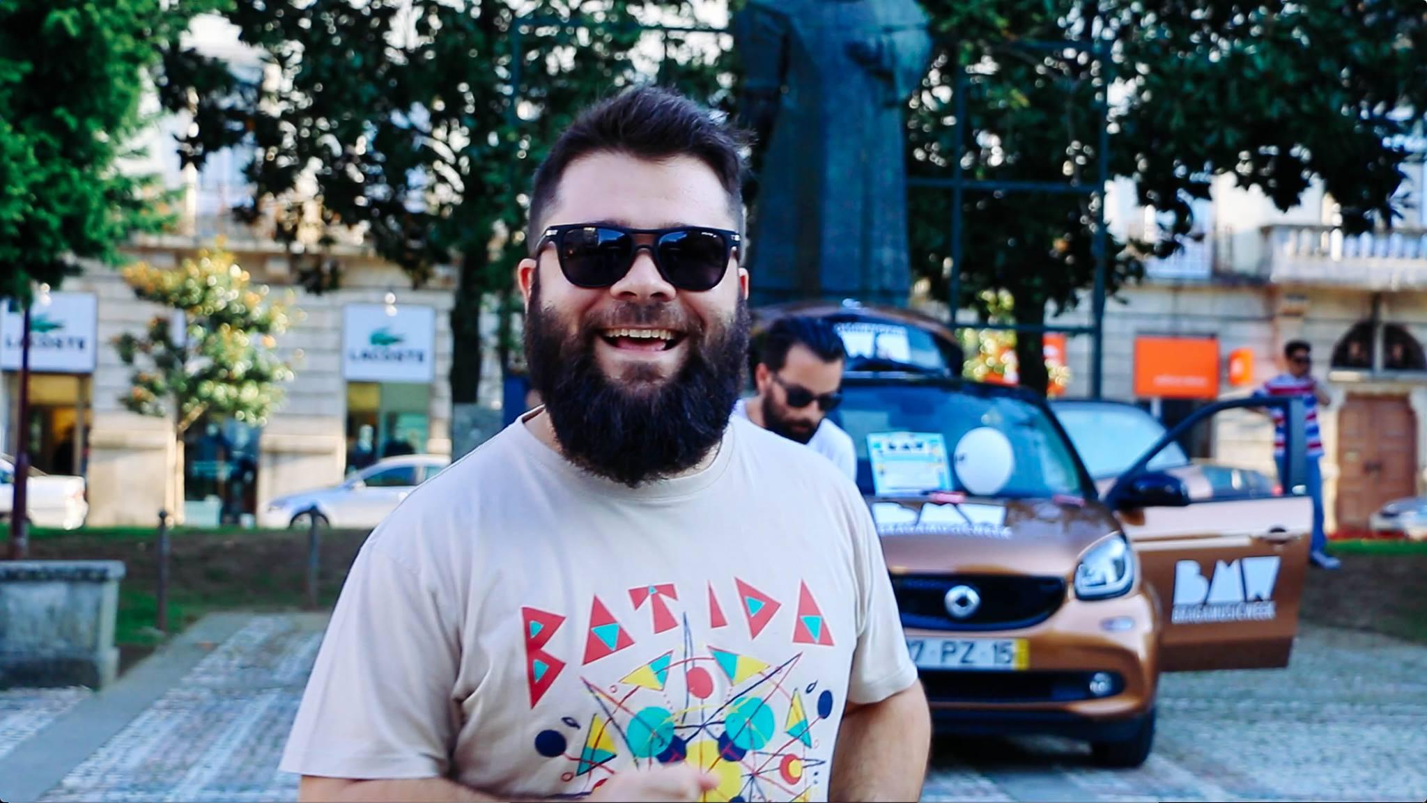 Para além dos concertos regulares e do agenciamento de bandas, João integra a organização do festival Braga Music Week. Fotografia: Inês Martins
