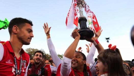 """""""Guerreiros"""" conquistam a Taça de Portugal"""