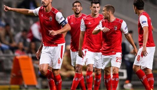 SC Braga entra com empate na Europa